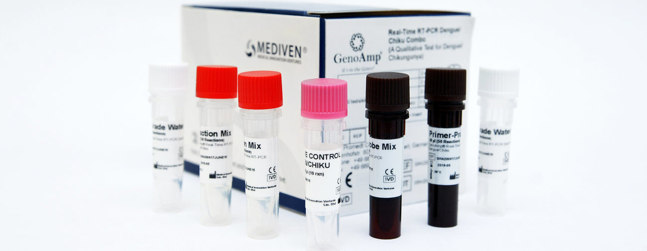 Mediven GenoAmp Real-Time RT-PCR Dengue/Chiku Combo