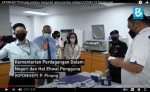 Mediven®, the local manufacturer of antigen test kits